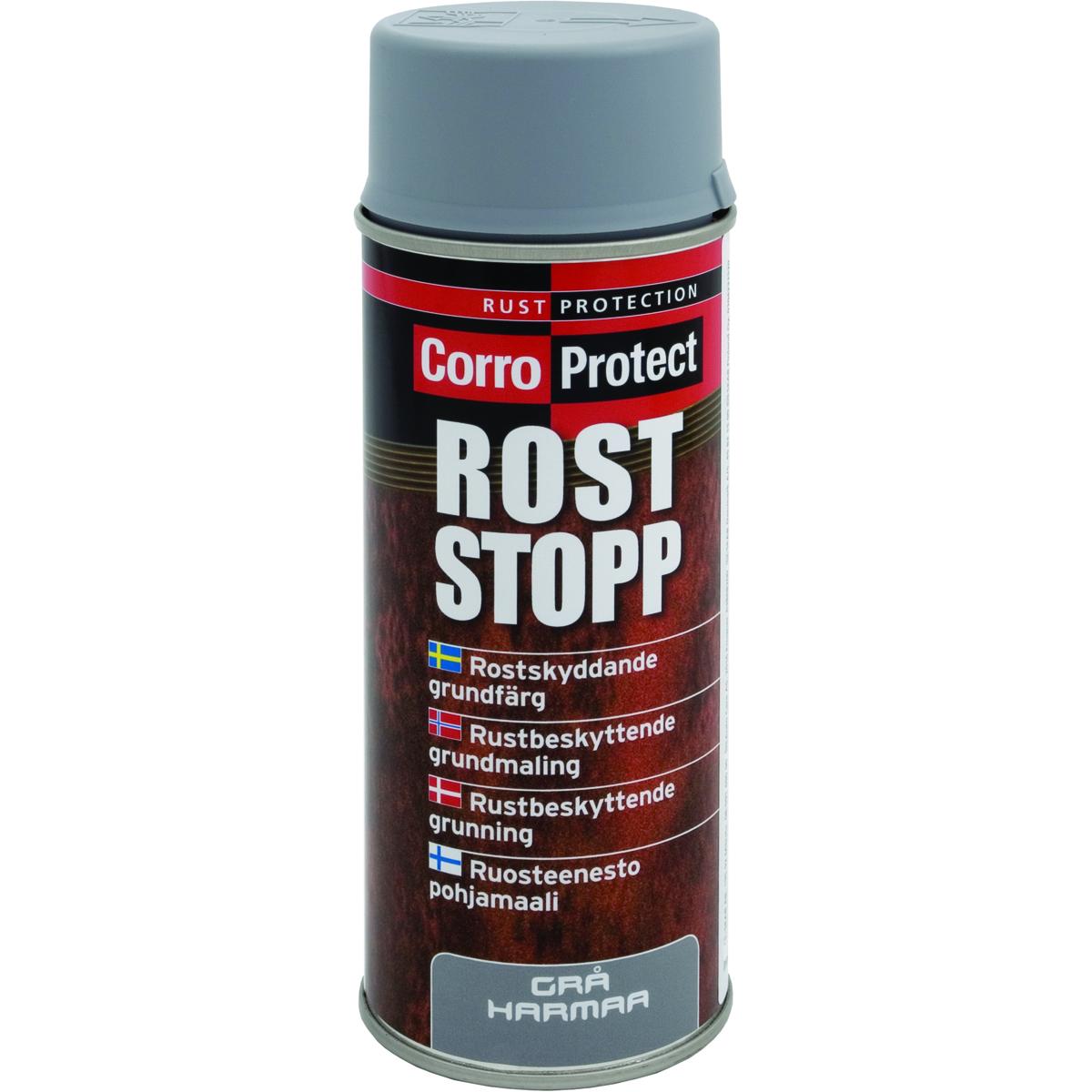 Rustbeskyttende Grunning Grå - spray