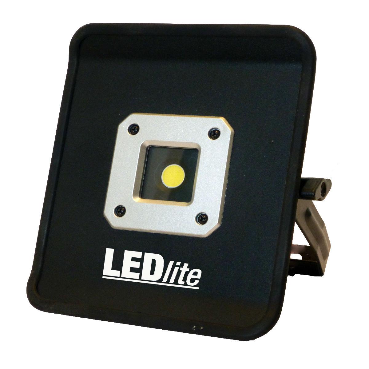 LED Lite Oppladbar arbeidslampe COB LED 20W 1300 Lumen