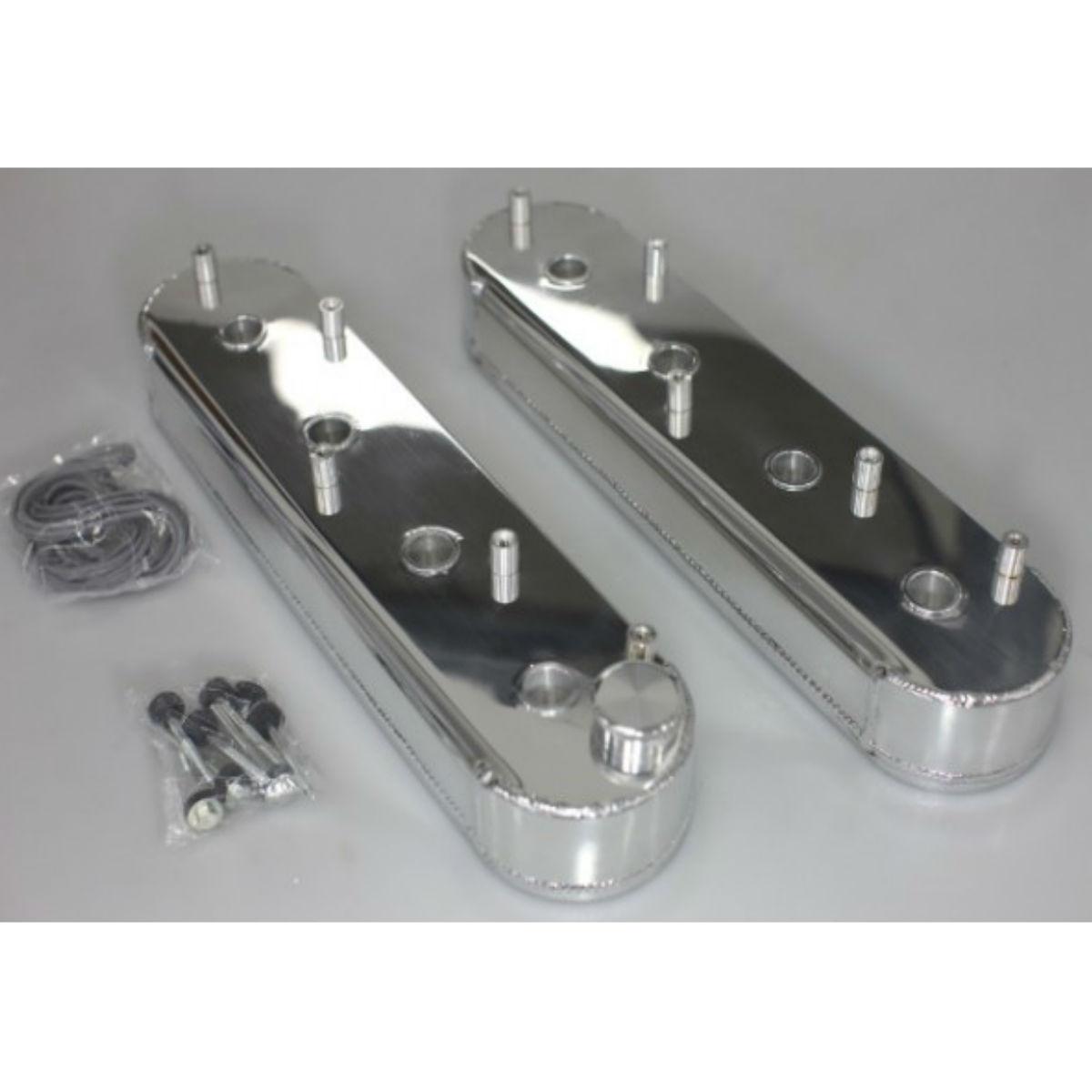 Ventildeksler Aluminium